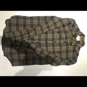 UO koto flannel Button down Shirt